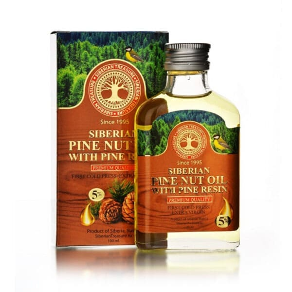 pine nut oil with resin