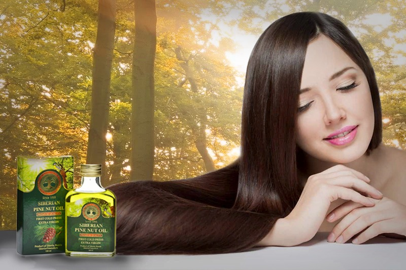 DIY Hair Masks with Siberian Pine Nut Oil: miraculous results