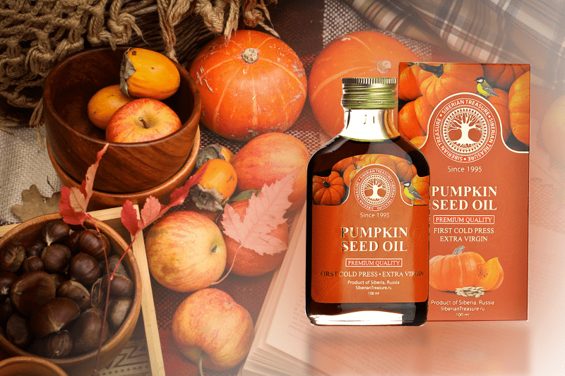 The Sunny Power of Siberian Pumpkin Seed Oil